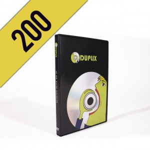 200 DVD-R DVDBOX PERSONALIZZATI