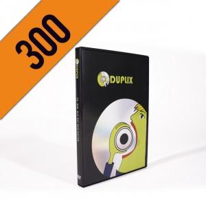 300 DVD-R DVDBOX PERSONALIZZATI