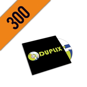 300 DVD-R CARTONSLEEVE PERSONALIZZATI