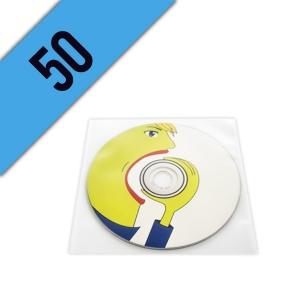 50 CD-R BUSTINA PVC PERSONALIZZATI