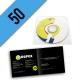 CD-R 50PZ PERSONALIZZATI BUSTINA