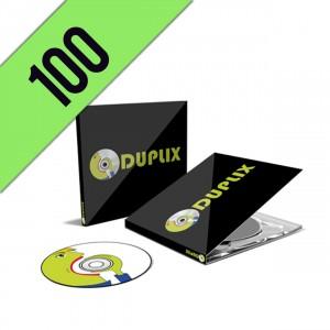 100 CD-R DIGIPACK PERSONALIZZATI
