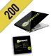 CD-R 200PZ PERSONALIZZATI DIGIPACK