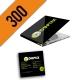 CD-R 300PZ PERSONALIZZATI DIGIPACK