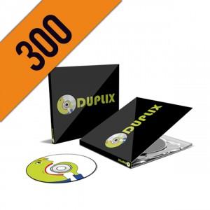 300 CD-R DIGIPACK PERSONALIZZATI