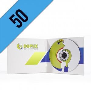 50 CD-R DIGIPACK LIGHT PERSONALIZZATI