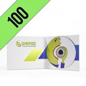 100 CD-R DIGIPACK LIGHT PERSONALIZZATI