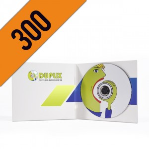 300 CD-R DIGIPACK LIGHT PERSONALIZZATI