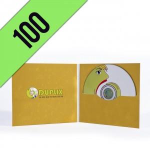 100 CD-R DIGIFILE PERSONALIZZATI