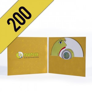 200 CD-R DIGIFILE PERSONALIZZATI