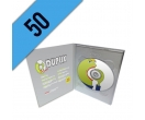 50 DVD-R DVD PACK PERSONALIZZATI