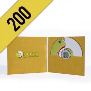 200 DVD-R DIGIFILE PERSONALIZZATI