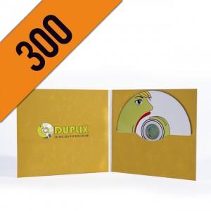 300 DVD-R DIGIFILE PERSONALIZZATI