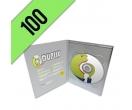 100 DVD-R DVD PACK PERSONALIZZATI