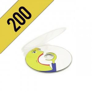 200 BLU-RAY CLAM SHELL PERSONALIZZATI