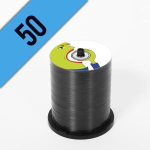 50 CD-R SPINDLE PERSONALIZZATI
