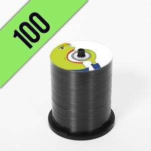 100 DVD-R SPINDLE PERSONALIZZATI