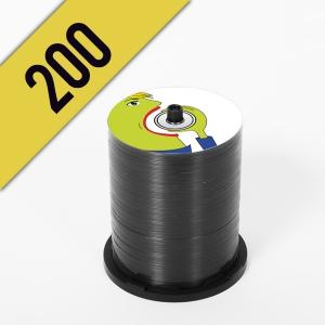 200 DVD-R SPINDLE PERSONALIZZATI