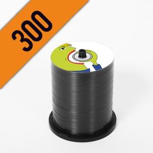 300 DVD-R SPINDLE PERSONALIZZATI