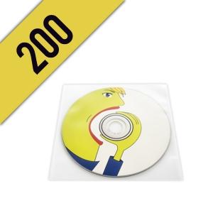 200 CD-R BUSTINA PVC PERSONALIZZATI