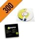 CD-R 300PZ PERSONALIZZATI BUSTINA