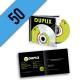 CD-R 50PZ PERSONALIZZATI JEWELBOX