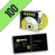 CD-R 100PZ PERSONALIZZATI JEWELBOX