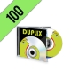 100 CD-R JEWELBOX PERSONALIZZATI