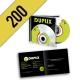 CD-R 200PZ PERSONALIZZATI JEWELBOX