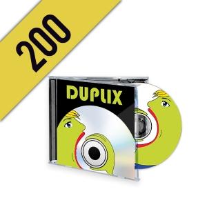 200 CD-R JEWELBOX PERSONALIZZATI