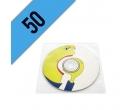 DVD-R 50PZ PERSONALIZZATI BUSTINA