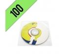 DVD-R 100PZ  PERSONALIZZATI BUSTINA