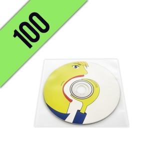 100 DVD-R BUSTINA PVC PERSONALIZZATI