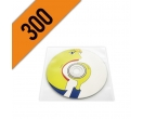 DVD-R 300PZ  PERSONALIZZATI BUSTINA