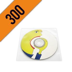 300 DVD-R BUSTINA PVC PERSONALIZZATI