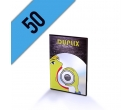 DVD-R 50PZ PERSONALIZZATI SLIMBOX