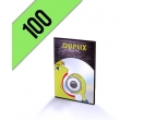 DVD-R 100PZ PERSONALIZZATI SLIMBOX