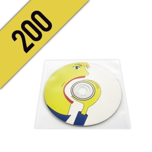 200 DVD-R BUSTINA PVC PERSONALIZZATI